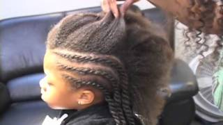 Child's Twist Out Styling