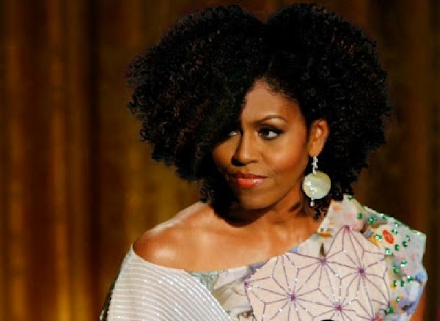 Can Michelle Obama Rock Natural Hair?