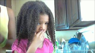 Caring for 3C Natural Hair in Children
