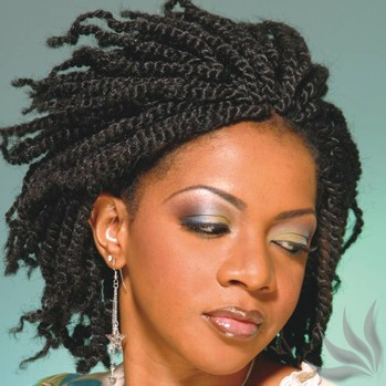 Natural Hair Twists - Black Women