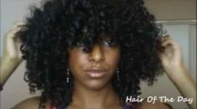 super curly afro hairstyle