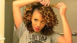 Super Defined Bantu Knot Out