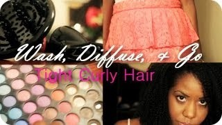 Wash & Go Using A Diffuser