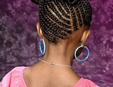 Beautiful Braided Natural Hair