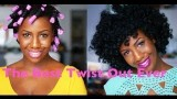 Natural Hair Twist out Method for Beginners