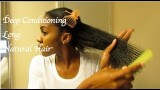 How To Deep Condition Natural Hair