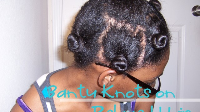 This Bantu Knots On Short Relaxed Hair Looks Fantastic. You Won't Believe How Quick It Was!