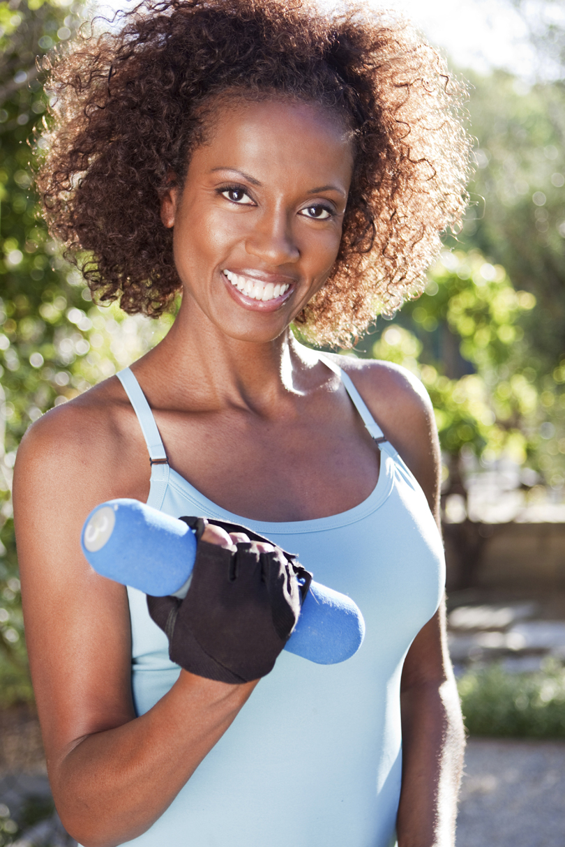 Here Are Some Workout Hairstyles For Black Women. Black Women Exercise!