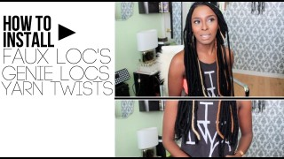 You Would Never Guess What Makes This Faux Locs Protective Style So Incredible. But You Have To See The End Result