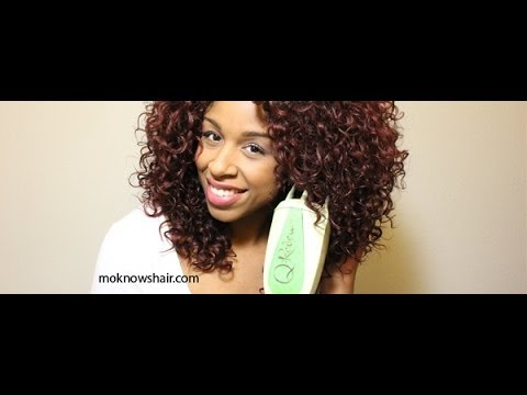 You haven't Seen A Hair Steamer For Natural Hair Review Til You Take A Look At This Video For The Q-Redew Handheld Steamer