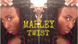 Even If You Had To Guess, You Still Wouldn't Guess That These Marley Twists Were Done By A First Timer. Amazing!!!