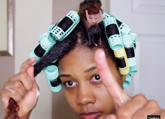 Hair Style Vidoes : ve Posted How To Videos On Heat-less Roller Set Before. But This ...