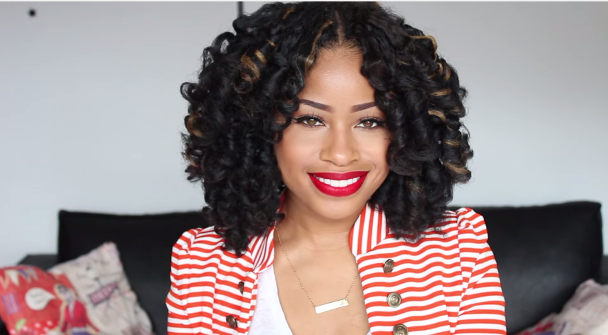 Crochet Braids Tutorial : How To Refresh Crochet Braids Tutorial Pictures to pin on Pinterest