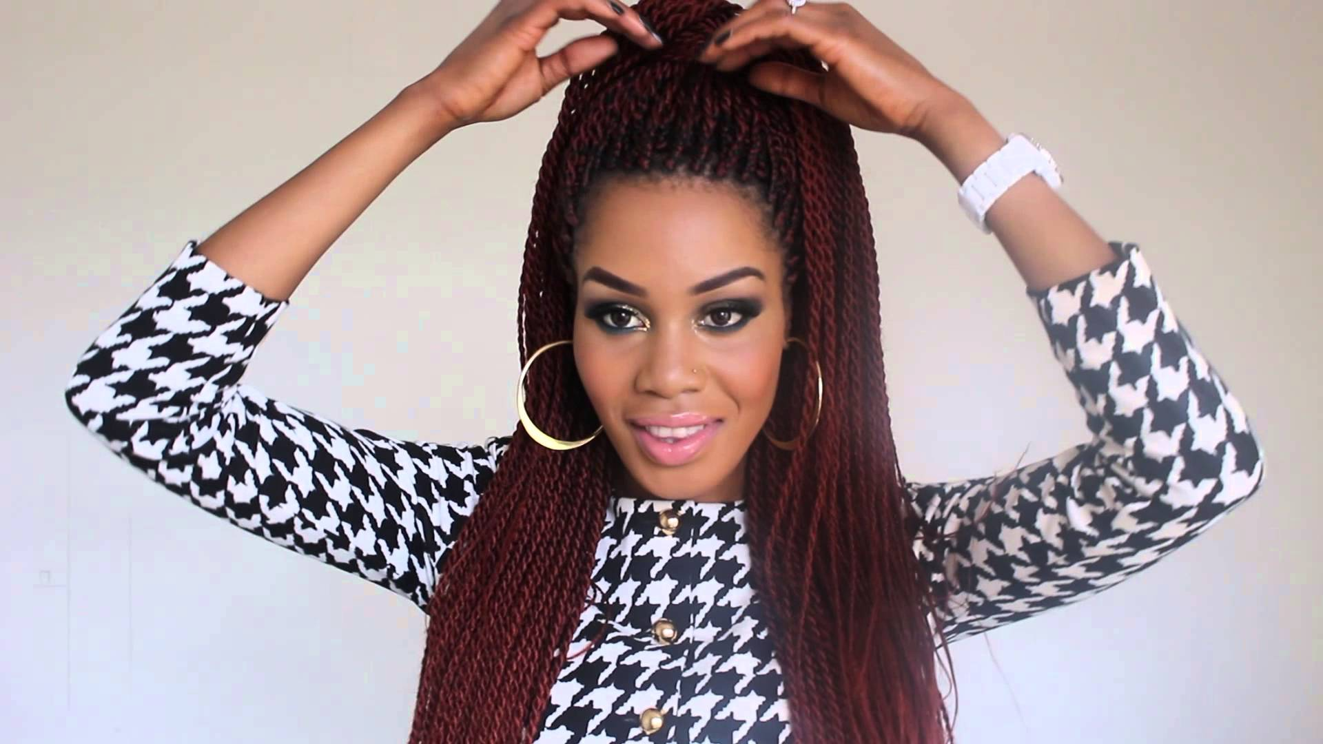 senegalese Twist Styles: 3 Ways To Style Your Beautiful Twists