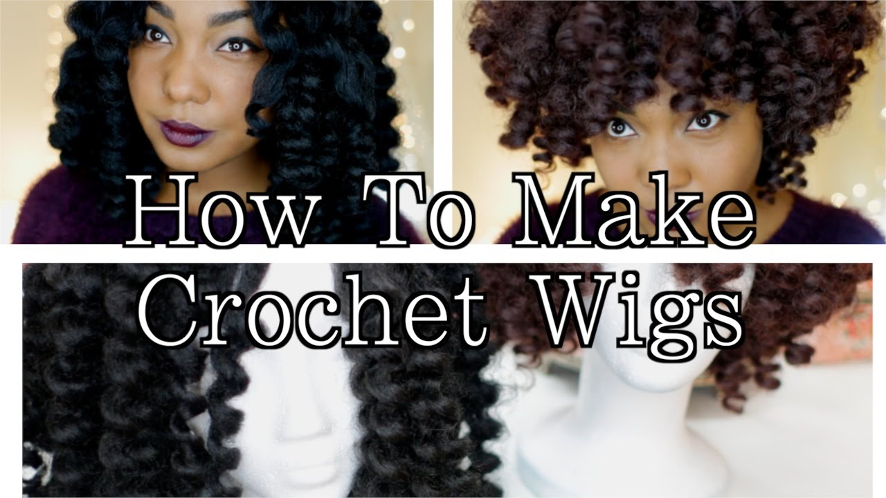 Crochet Hair On A Cap : DIY Crochet Wigs On Netted Cap With Marley & Cuban Twist Hair