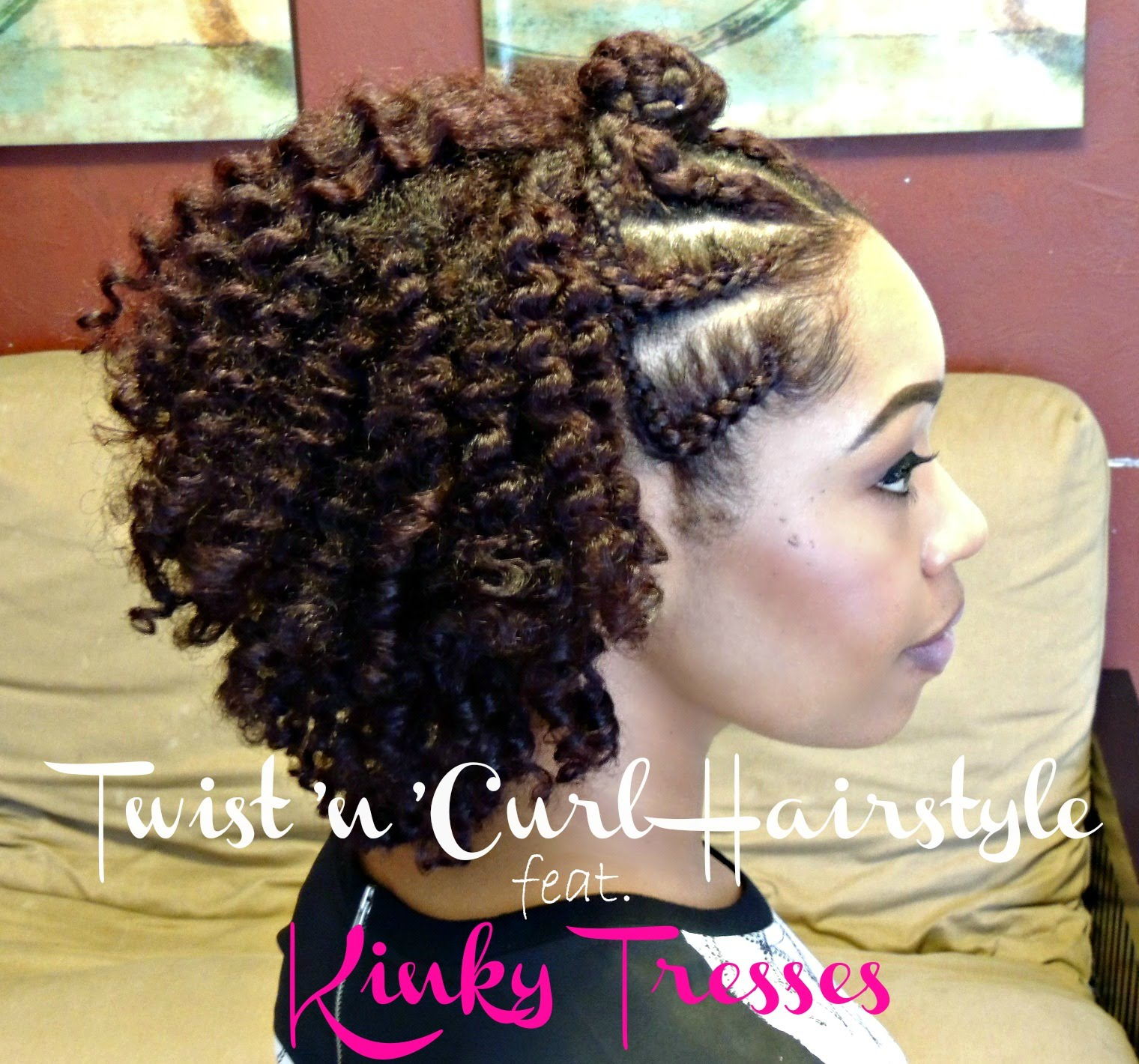 Best Twist And Curl Natural Hairstyle For Beginners