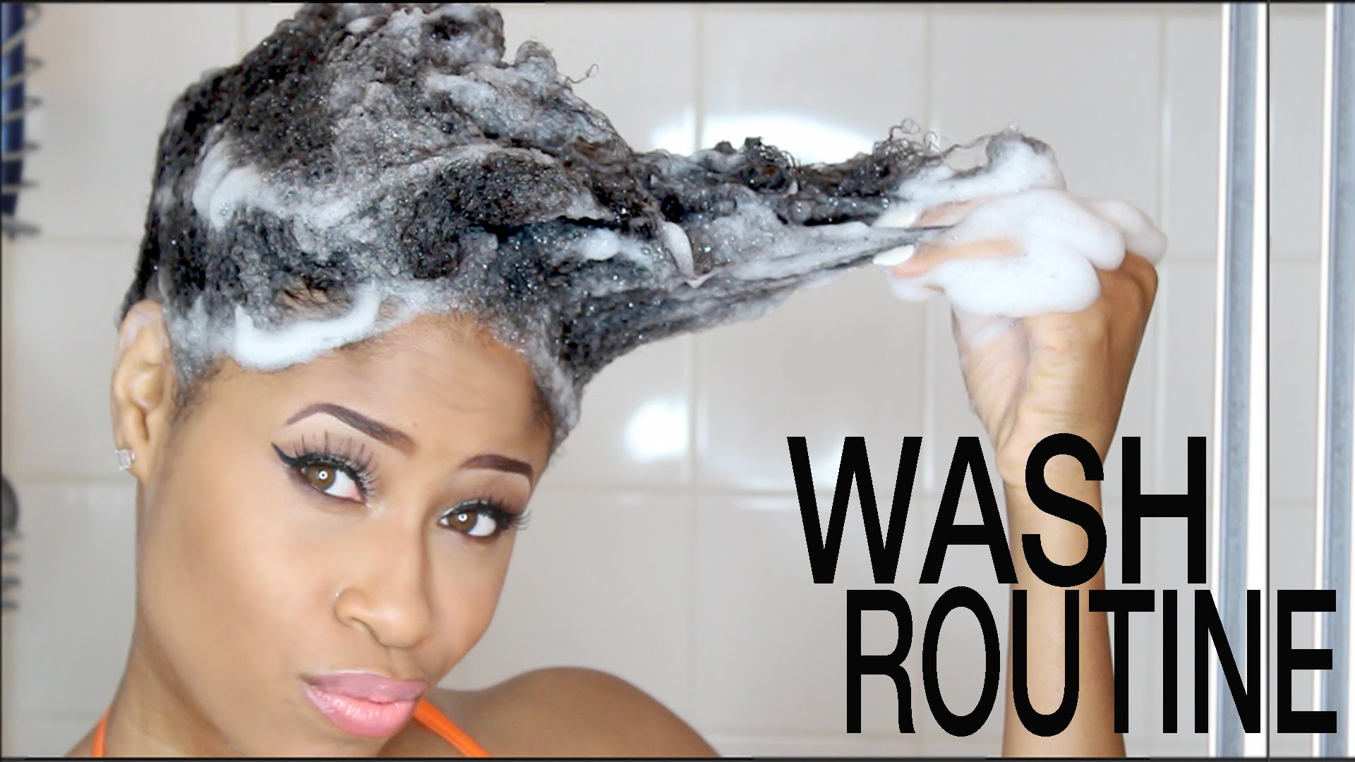 Crochet Hair Routine : Natural Hair Wash Day Method Is Super Simple?But Yet Very Effective!