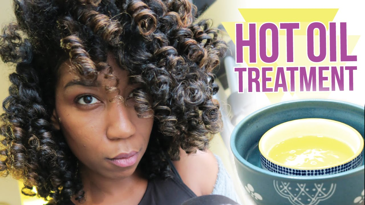 Leave In Hot Oil Treatment For Natural Hair