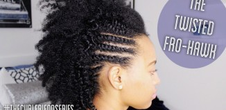 This Natural Frohawk Is Beautiful, But See Why It Looks So Stunning In ...