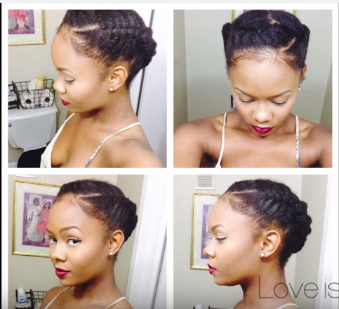 quick easy natural hairstyles : Quick and Easy Natural Hair Styles Natural Hair Rules!!!