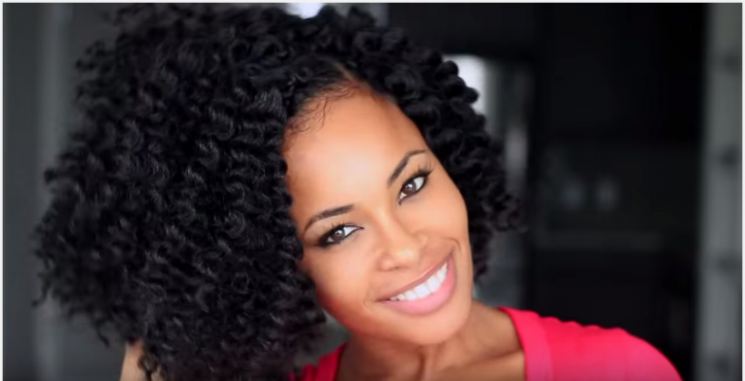 She Used Havana Mambo Twisted Hair To Create These Crochet Braids That ...