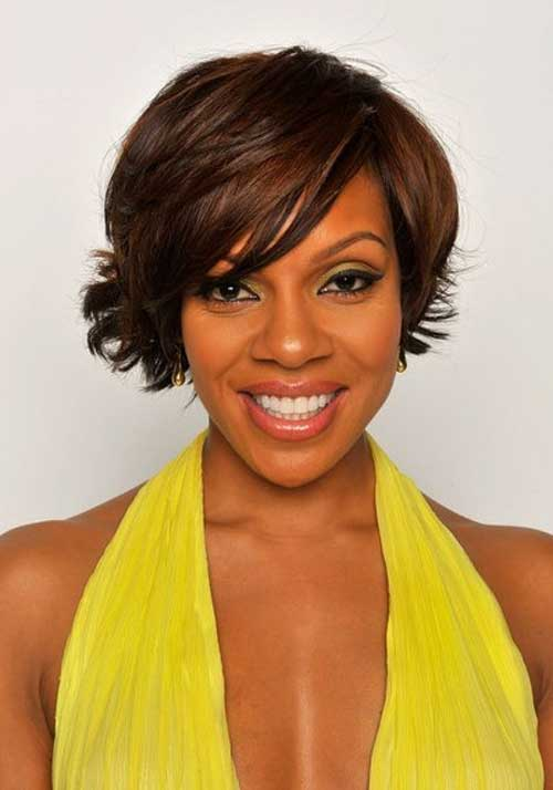 Cute Short Hairstyles For Black Women (Today's Hottest Short ...