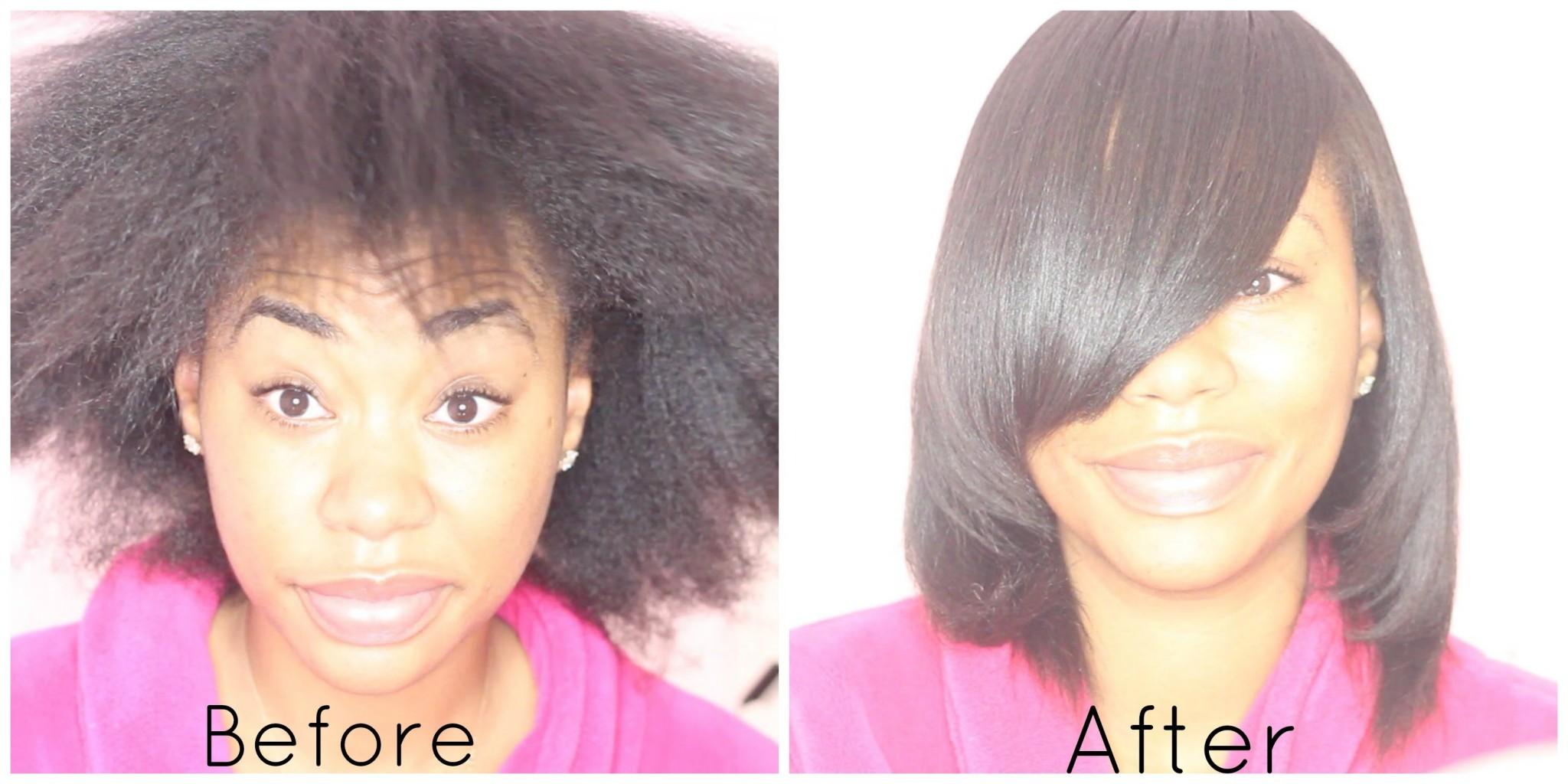 Watch The Magic Of Hair Transformation After A Sleek Silk