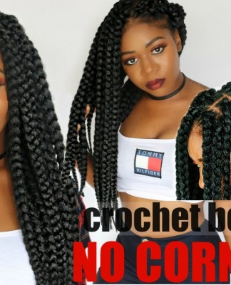 Washing Crochet Box Braids : braided new method use individual crochet box braids to achieve ...