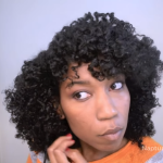 curly fro hair