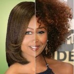 natural versus relaxed hair