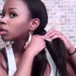 side twist braid protective style