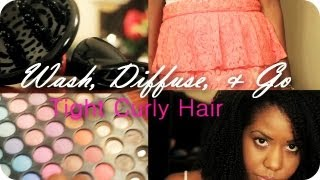wash & go with diffuser