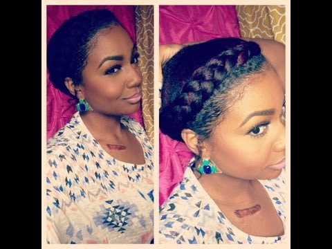 how to do perfect goddess braids that are quick and easy