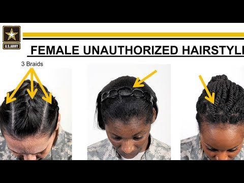 military natural hairstyles