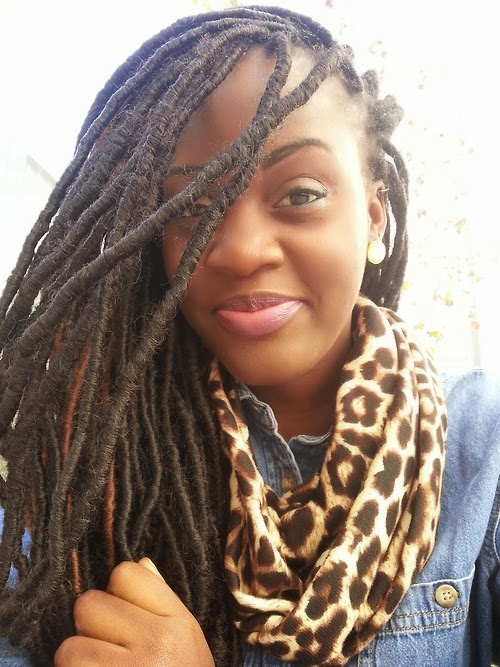 faux locs protective style