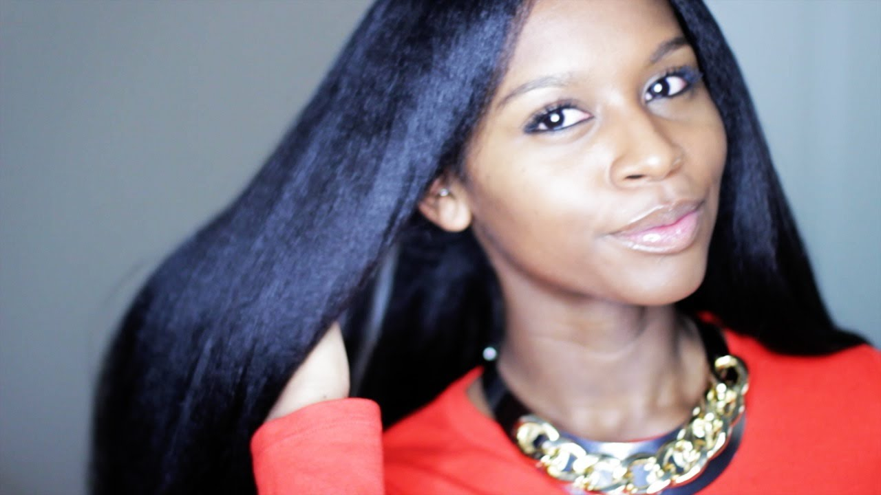 Easy Method On How To Flat Iron And Get Straight Hair