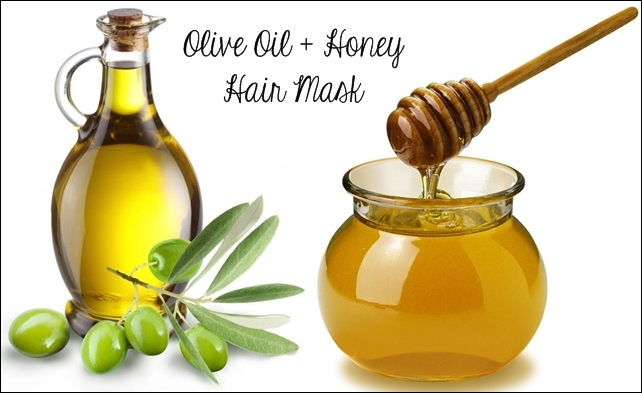 Смесь меда и оливкового масла