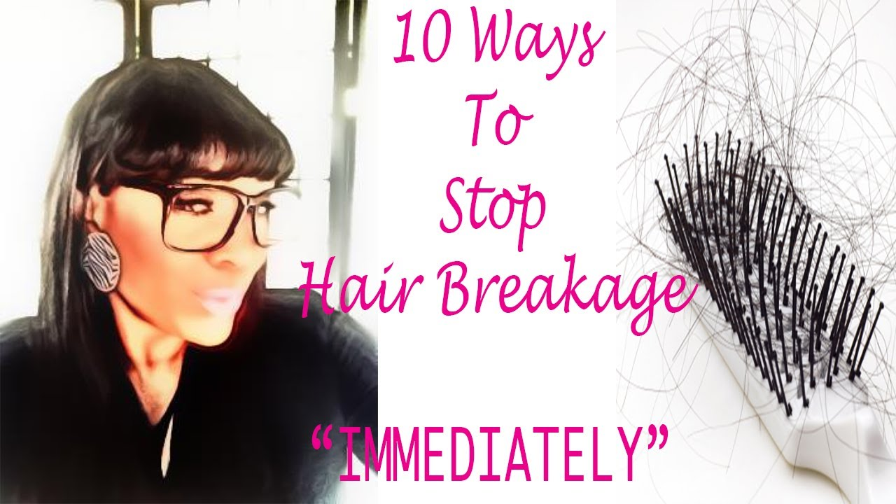 How To Stop Hair Breakage On Natural African American Hair