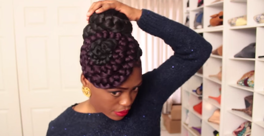 Black Women's Natural Hair Styles