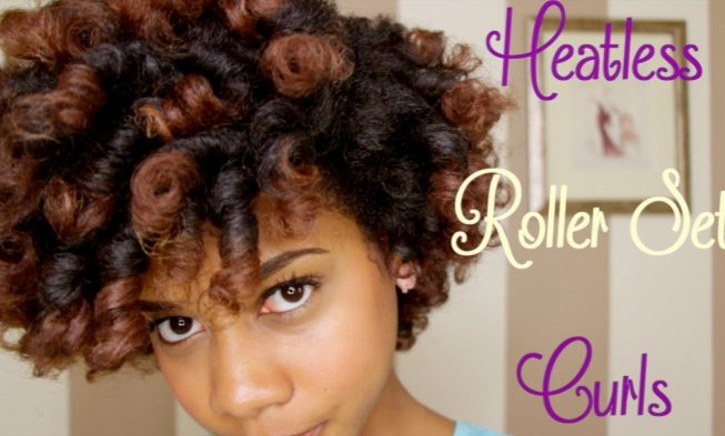 how to style relaxed hair without heat how to curl black hair without heat best 4609