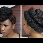 how to style long box braids