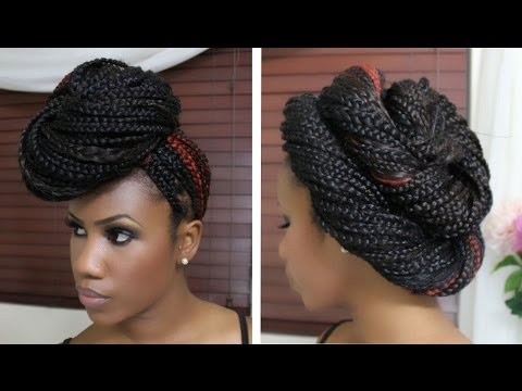 Pleasant 4 Quick And Easy Ways On How To Create Cute Box Braid Styles Short Hairstyles For Black Women Fulllsitofus