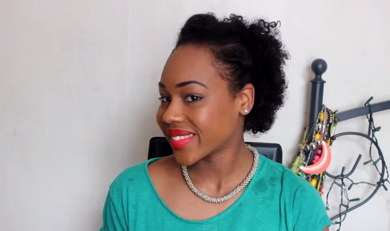 3 Quick Easy Wash And Go On Natural Short Hair Styles
