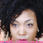 Defined Twist Out on Natural Hair