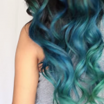 Mermaid Hair Color DIY