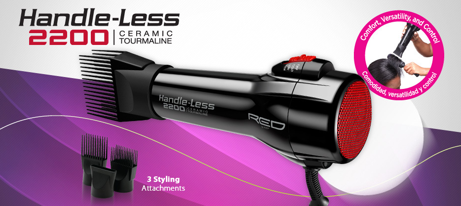 Red by KISS Handleless Hair Dryer