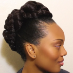 Transitioning Updo