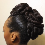 Transitioning Updo with Textures TMS