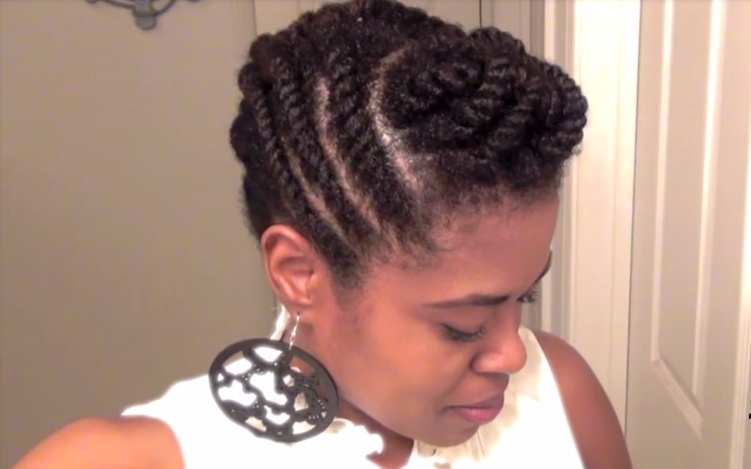 Create 4 perfect up do hairstyles with an easy flat twist updo hairstyles pmusecretfo Image collections