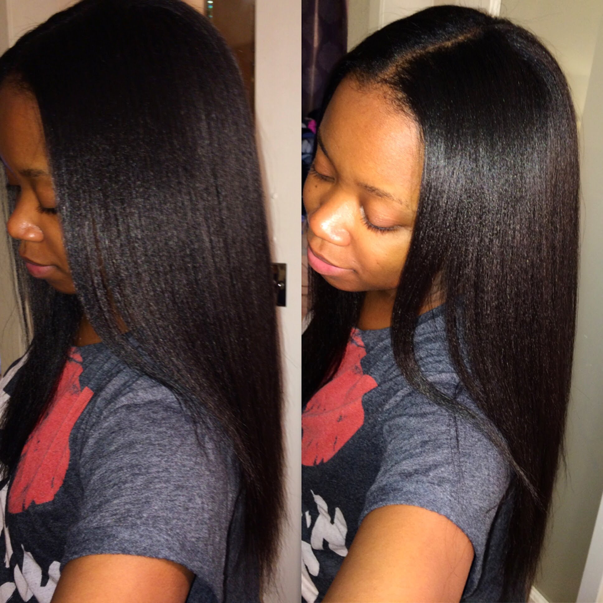 Using Red By Kiss Handle Less Blow Dryer On Natural Hair